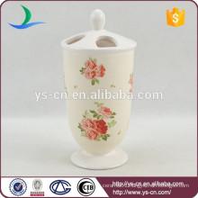 YSb50099-01-th The royal styl ceramic toothbrush holder