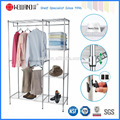 Special Popular DIY Metal Wardrobe Clothes Rack with NSF Approval