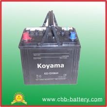 622-12V50ah Koyama japonês excelente auto carro baterias