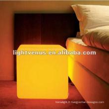 Fauteuil à LED changeant de couleur de salon