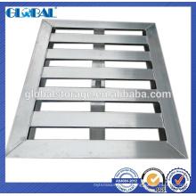 Sistema de almacenamiento de palet de aluminio para cargas pesadas