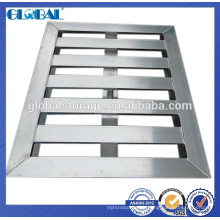 Système de stockage de palette en aluminium pour le chargement lourd