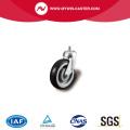 Threaded Stem Swivel TPE Shopping Cart Caster
