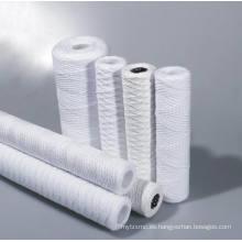 Deo / PP / Cartucho de filtro de herida de cadena de algodón