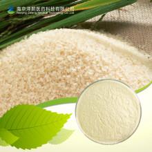 Proteína orgánica del arroz moreno en polvo
