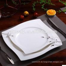 Hochwertiges Magnesia Quadrat Rindfleisch Platte