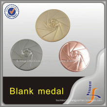 Gold Silver Copper Die Cast 3D Blank Medal