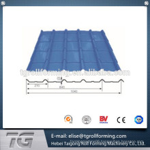 archaistic glazed tile color steel cold roll forming machine