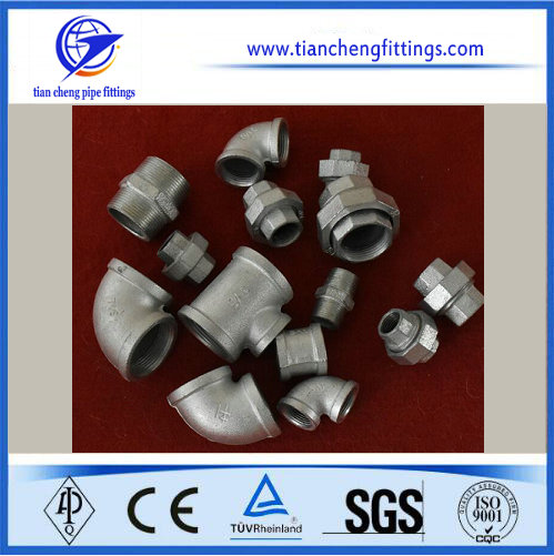 Cold Galvanizing Malleable Cast Fittings