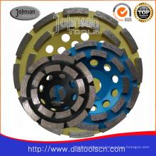 Diamond Double Row Cup Wheel