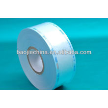 Medical heat seal sterilization flat reel pouch for packing surgical equipment
