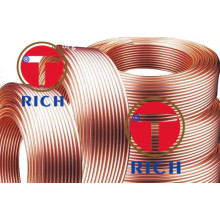 Tubo de cobre da tubulação do cobre da bobina C11000