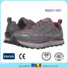 Vente chaude athlétique en caoutchouc semelle extérieure dames chaussures de sport