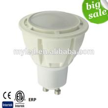 Intertek CE ROHS 600Lumen GU10 7W Dimmable lâmpadas LED SMD2835