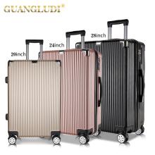 Juego de viaje de equipaje con rueda giratoria de 3 piezas