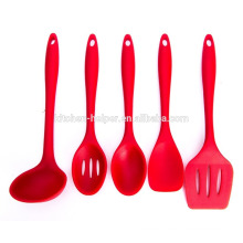 New design silicone nylon personalized kitchen utensils