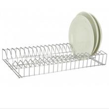 Stainless Steel Kitchen Tableware Metal Dish Plate Rack