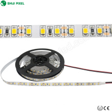 DC12V 24V couleur unie bande flexible 120leds 2835 SMD blanc chaud samsung led bande