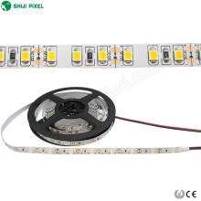DC12V 24V solid color flexible strip 120leds 2835 SMD warm white samsung led strip