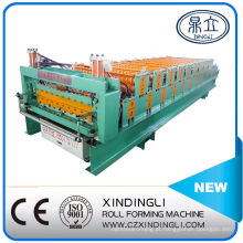 Fabricante de máquina de laminação a frio de folha ondulada e Ibr de camada dupla na China
