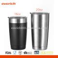 16oz Nuevos Productos Taza de acero inoxidable para bebidas calientes y frías