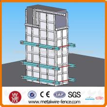 Construção de alumínio Colunas de cofragem