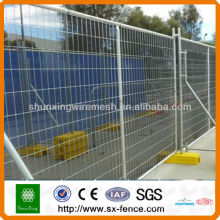 ISO9001 Anping Powder Coated Portable Temporary Fence