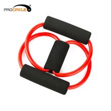 Bandas de resistencia de potencia, tubo de resistencia en forma de 8, tubo elástico