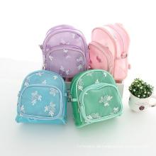 Baby ein Stück Minze grün blau rosa lila Rucksäcke für Kinder Schule Taschen zu studieren