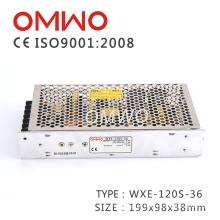 Wxe-120s-36 SMPS 36V 3A 120W AC para fonte de alimentação CC