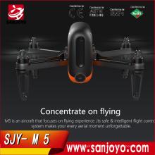 WINGSLAND M5 Wifi FPV Selfie Smart Drone con 720P HD cámara de flujo óptico GPS RC Quadcopter APP control M5 720P Wifi FPV Drone
