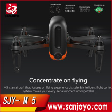 WINGSLAND M5 Wifi FPV Selfie Smart Drone With 720P HD Camera Optical Flow GPS RC Quadcopter APP control M5 720P Wifi FPV Drone