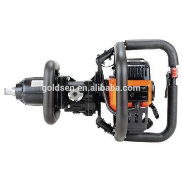 New Arrival GOLDENTOOL 46.5cc Handheld Gasoline Powered Rail Track Impact Wrench