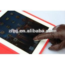2013winter neue Artleder-Touchscreenhandschuh