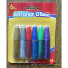 6ml Glitter Glue 6PCS Blister Packing