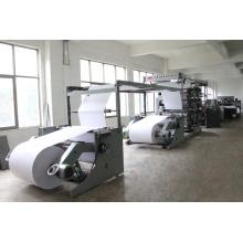 Machine de fabrication automatique de livres d'exercices avec quatre couleurs Flexo Printing Double face