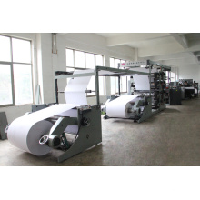 Auto Exercise Book Making Machine with Four Color Flexo Printing Double Face