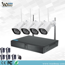 4CH 1.0MP Wireless Wifi Videoüberwachungssystem
