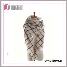 Bufanda de tartán de la bufanda del cachemira de la nueva bufanda de Pashmina del estilo caliente del nuevo estilo