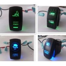 Нарва ARB carling на двойной светодиодной подсветкой включения-выключения перекидной переключатель
