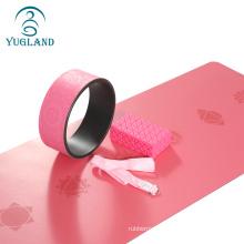 Yugland eco-friendly private label anti slip natural rubber pu yoga mat