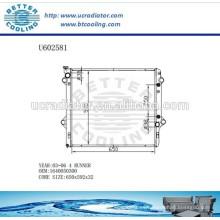 Radiador De Aluminio Para TOYOTA 4 RUNNER 03-06 1640050300 Fabricante y Venta Directa