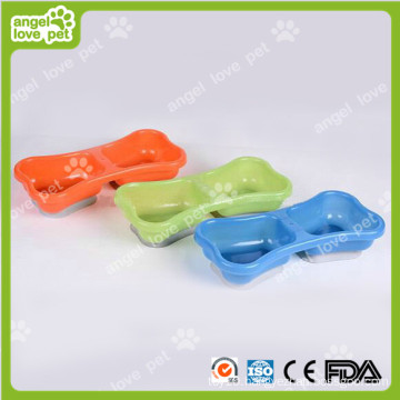 Doouble Bowl with Suction Base for Pet