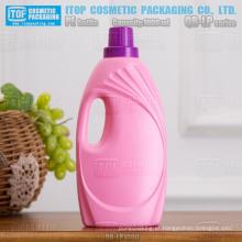 QB-LP1000 popular e bela cor personalizável boa qualidade 1000ml / 1L PEAD plástico lavanderia frasco detergente