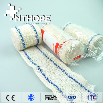 natural color medical elastic crepe bandage rubber gauze bandage