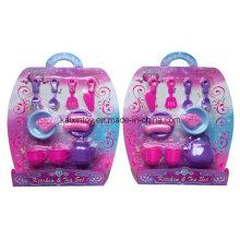 Pretend Play Plastic de jouets de cuisine et de thé pour les enfants