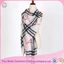 Лучший продавец OEM качество кашемир шерсть шаль в многие стиль