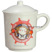 100%Melamine Dinnerware-Kid′s Mug W/ Cover/Melamine Mug (BG618S)