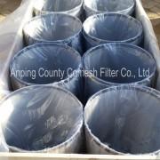 Stainless steel cylinder strainer filter bucket