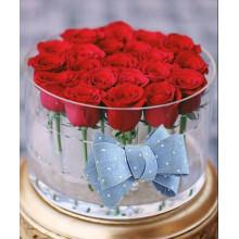 Фабричная поставка Персонализированная акриловая цветочная коробка